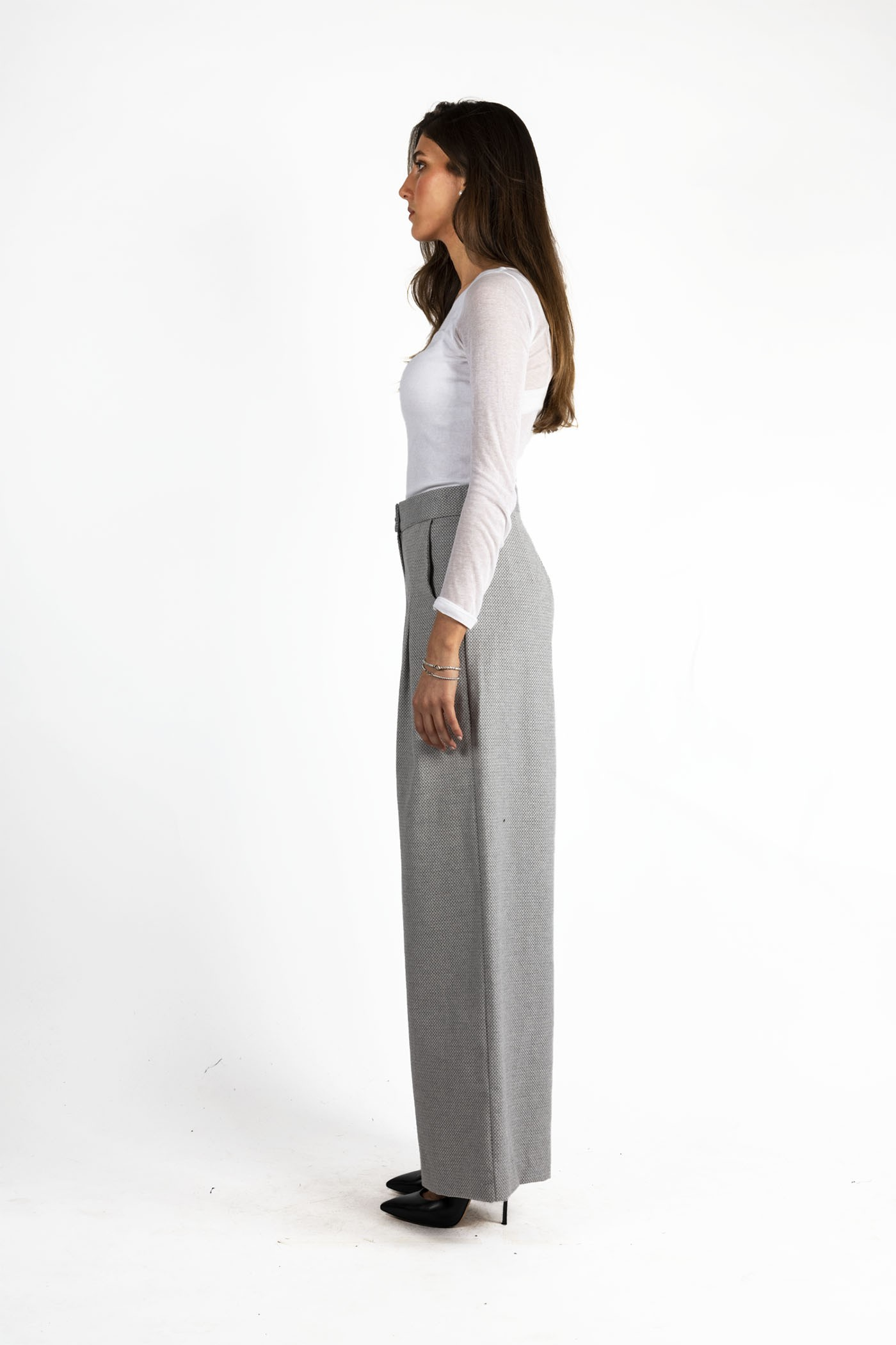 Pantaloni donna da ufficio. Elegante pantalone ...